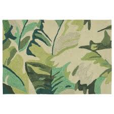 Kohls Outdoor Rugs by Trans Ocean Imports Liora Manne Front Porch Capri Palm Leaf Indoor