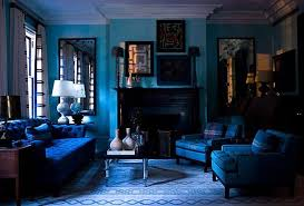 Blue And Black Living Room Decorating Ideas 15 Beautiful Blue Rooms