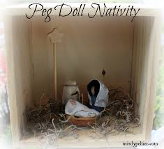 peg doll nativity set is touchable for toddlers mindy peltier