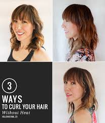 different ways to curl your hair with a wand 3 ways to get boho waves without heat hello glow