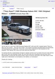 saleen mustang price guide for 38 900 this 1989 saleen mustang ssc might put a fox in your