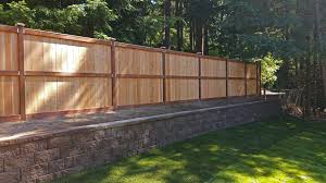 lacey retaining wall and privacy fence ajb landscaping u0026 fence
