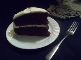 mom u0027s chocolate mayonnaise cake cream cheese icing recipe just a