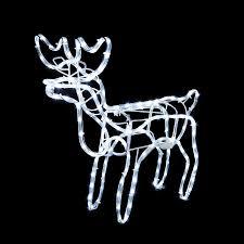 tis your season animated lighted reindeer family led rope light