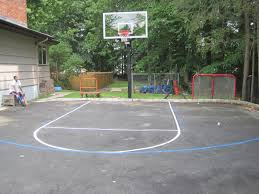 alfa img showing basketball dimensions for your driveway