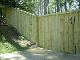 privacy fence pictures garden design