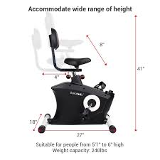 Under The Desk Bicycle Loctek Store Loctek U2 Fitness Under Desk Magnetic Recumbent