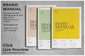 free manual template word 10 professional brand manual templates to promote brand image