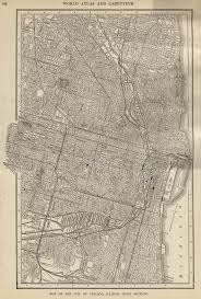 Map Of Chicago Illinois by Maps Forgotten Chicago History Architecture And Infrastructure