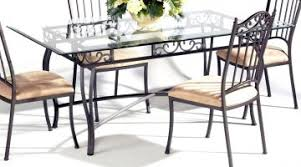 glass metal dining table adorable table metal tables chair sets base dining room bistro table