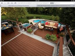 idea for the backyard deck u2014 home landscapings backyard deck