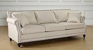amazon com tov furniture the camden collection contemporary linen