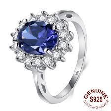 ring diana princess diana inspired 2 0ct tanzanite s925 ring december