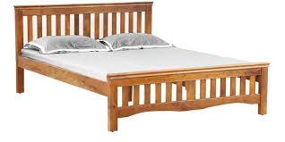 Bed Images Buy Marko Queen Bed In Honey Colour By Evok Online Queen Sized
