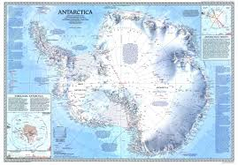 World Map 1980 1987 Antarctica Map Historical Maps