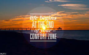 life begins at the end of your comfort zone hashtag magazine