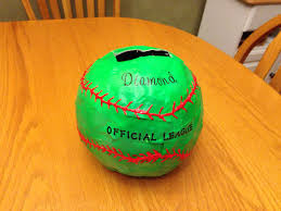 s day card boxes paper mâché softball box s day