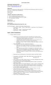 Operations Resume It Head Resume Resume For Your Job Application