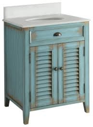 Cottage Style Bathroom Vanities by Cottage Style Abbeville Bathroom Sink Vanity And Mirror 26