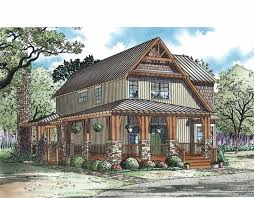narrow lot cottage plans rustic open plan for a narrow lot hwbdo73374 cottage from