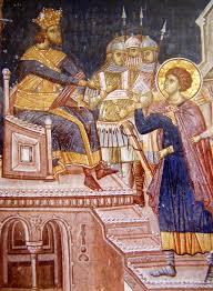 osuda sv or a na smrt manastir visoki de ani isto ni zid osuda sv or a na smrt manastir visoki de ani isto ni zid priprate 1340 wall paintingswall mural