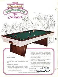 8ft brunswick pool table identify this 8ft brunswick please