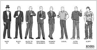 attire men a guide to social dress codes for men black tie business dress