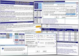 Business Valuation Excel Template Excel Options Valuation Template