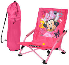 Lounge Camping Chair Amazon Com Disney Minnie Mouse Folding Lounge Chair Toys U0026 Games