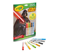 crayola coloring u0026 activity pad star wars crayola