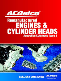 catalogue acdelco remanengines pdf motor oil distributor