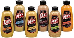 koops mustard koops horseradish mustard 12 12 0oz lou s foods