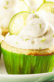 margarita cupcakes with key lime cream cheese frosting kitchme