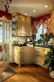 French Country Kitchen Furniture by Plain U0026 Fancy French Country Cabinets Traditionally Classic