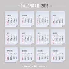 35 best 2015 calendar vector templates designmaz