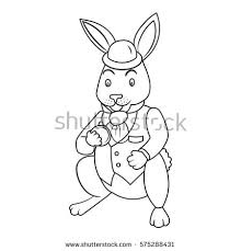 fairy tale bunny coloring book vector stock vector 575288431