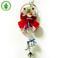 tree ornaments hanging plastic santa claus bell