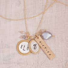 personalized charm necklaces best personalized jewelry for gallery of jewelry