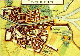Map Of Dublin Ireland Source South Dublin Libraries U0027 Digital Archive Dublin City 1714