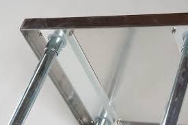 Atlantic Metalworks STTBS SS Economy Table WBacksplash - Stainless steel table with backsplash