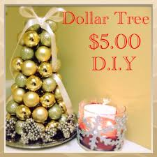 d i y dollar tree ornament tree 5 00 17
