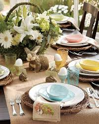 rustic dinner table settings 20 stylish and unique easter dinner table decorations