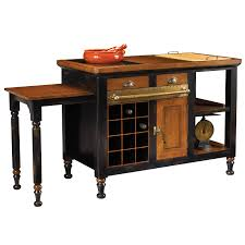 gourmet kitchen island heritage high point nc furniture shop