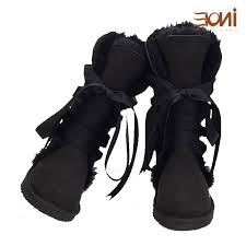 womens boots in size 13 sheepskin lined boots lace up knee high s winter boots