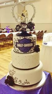 harley davidson wedding theme wedding cakes pinterest