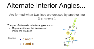 Example Of Alternate Interior Angles Alternate Interior Angles Notes Google Slides