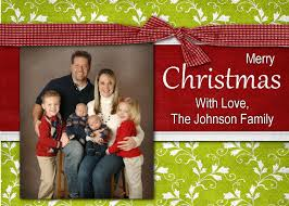 personalized christmas cards personalized christmas card templates free business template