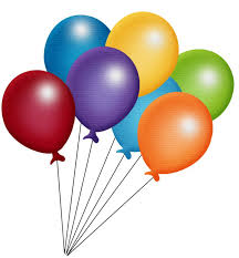 bunch of balloons birthday balloons clipart free best