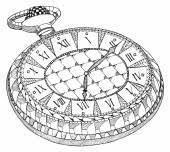 pocket watch sketch icon u2014 stock vector rastudio 112200802