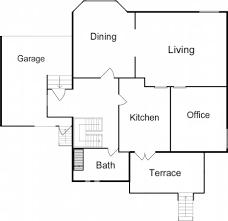 basic floor plan decoration basic house plans unoptimal floor plan